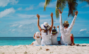 4 beneficios de viajar en familia